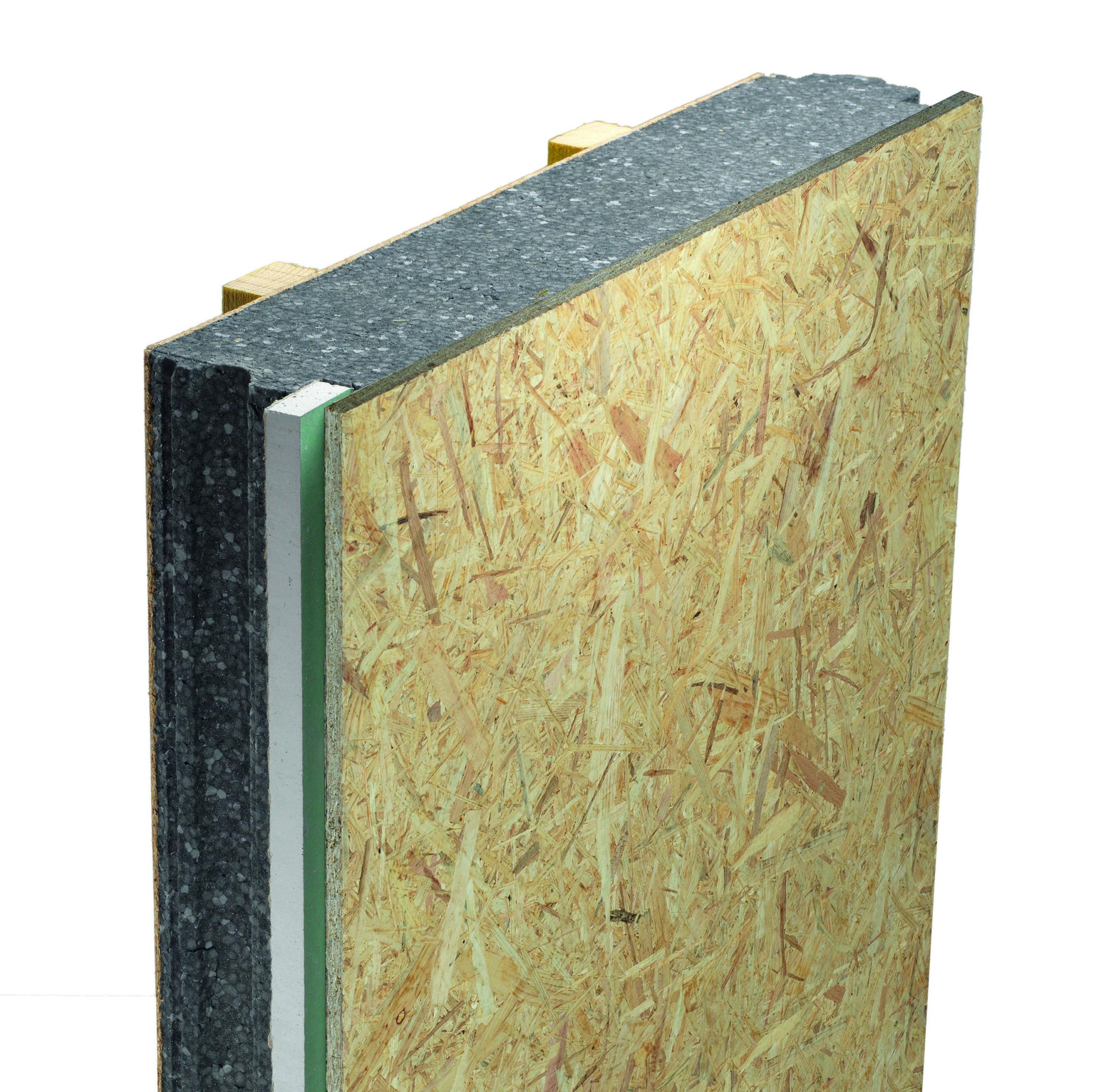 Panneau de toiture isolant ITE Cosyk OSB