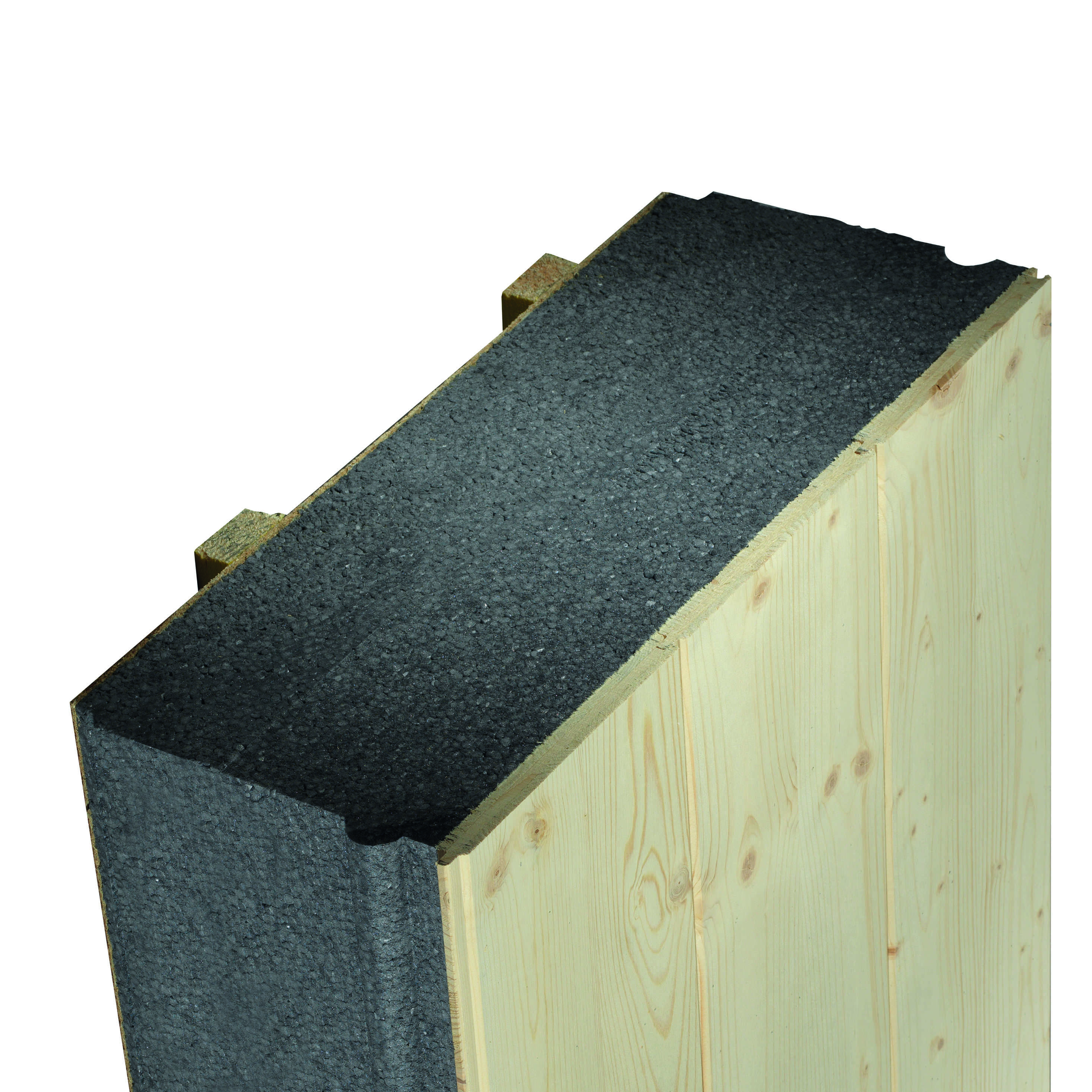 Panneau de toiture isolant ITE Cosyk Planche