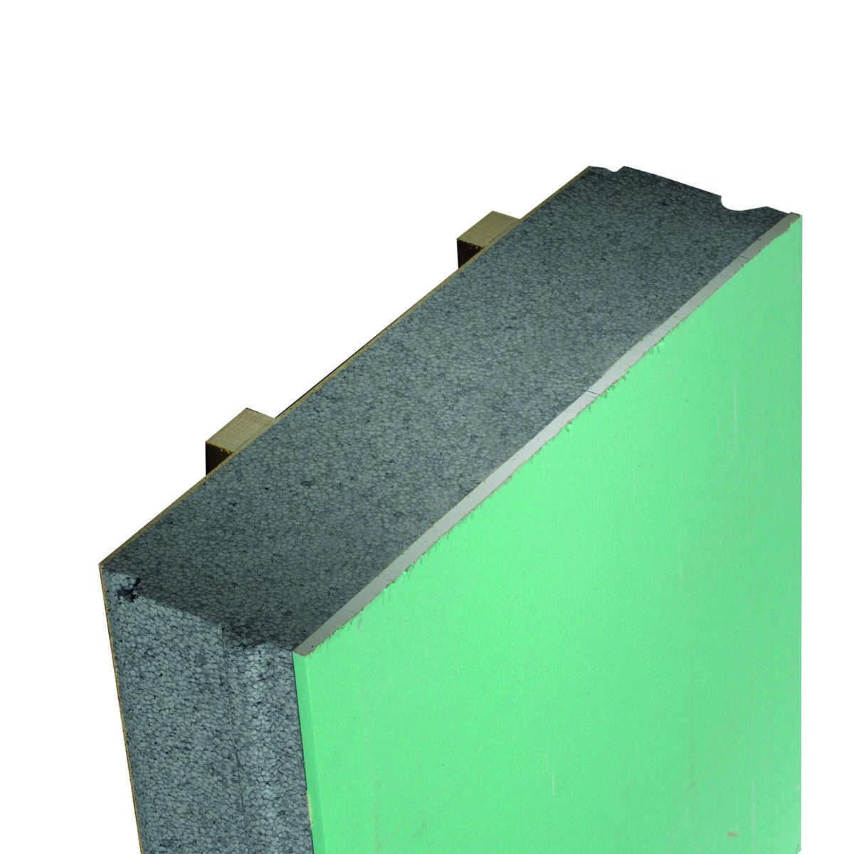 Panneau de toiture isolant ITE Cosyk Plâtre