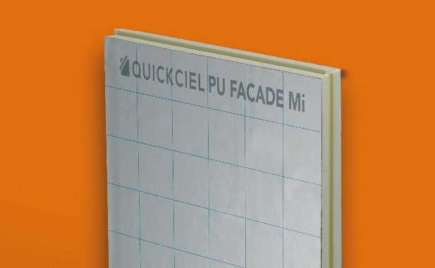 Panneau isolant façade Quickciel PU façade Mi